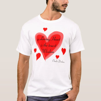 Loving heart mens shirt