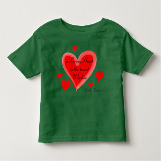 Loving heart toddler shirt