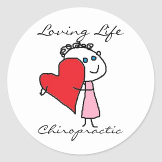 Loving Life..Chiropractic Sticker