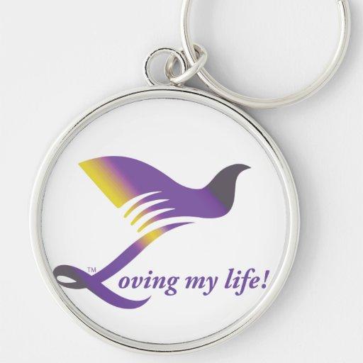 Loving Your Life Key Chain!