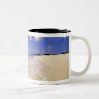 Low Bay Beach, Barbuda, Antigua Two-Tone Coffee Mug