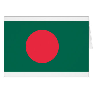 Low Cost! Bangladesh Flag Card