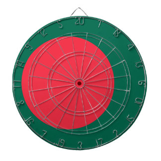 Low Cost! Bangladesh Flag Dartboards