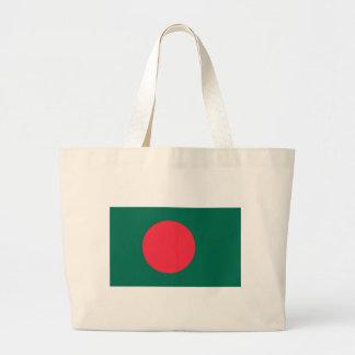 Low Cost! Bangladesh Flag Large Tote Bag