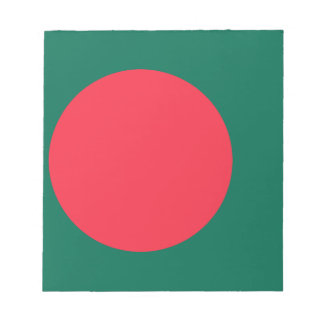 Low Cost! Bangladesh Flag Notepads
