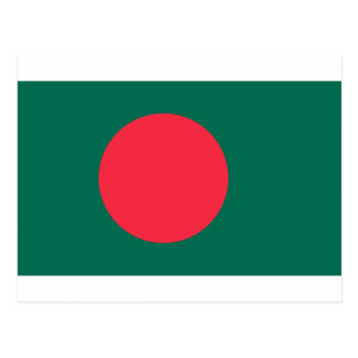 Low Cost! Bangladesh Flag Postcard