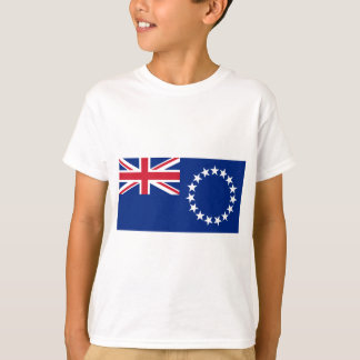 Low Cost! Cook Islands Flag T-Shirt