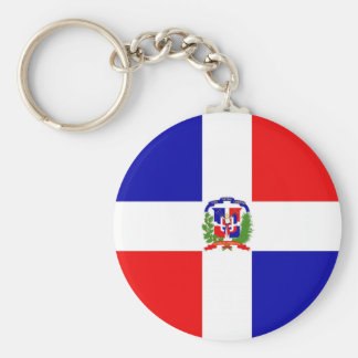 Low Cost! Dominican Republic Key Ring