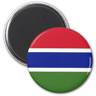 Low Cost! Gambia Flag Magnet