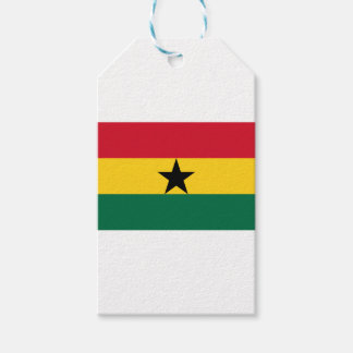 Low Cost! Ghana Flag Gift Tags