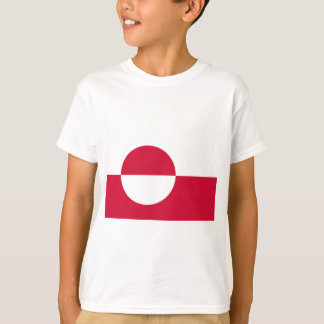 Low Cost! Greenland Flag T-Shirt