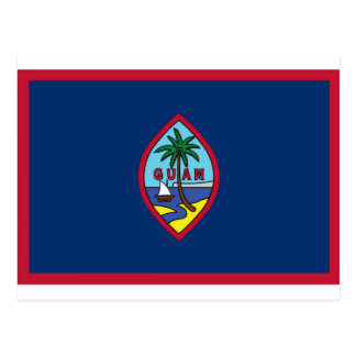 Low Cost! Guam Flag Postcard