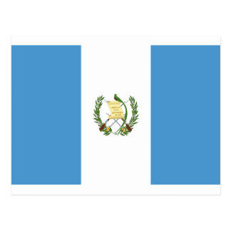 Low Cost! Guatemala Flag Postcard