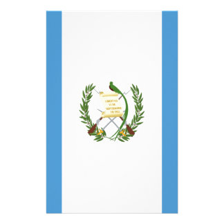 Low Cost! Guatemala Flag Stationery