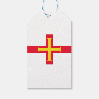 Low Cost! Guernsey Flag Gift Tags