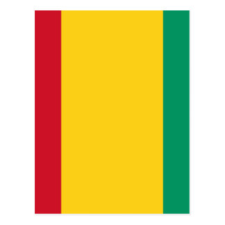 Low Cost! Guinea Flag Postcard