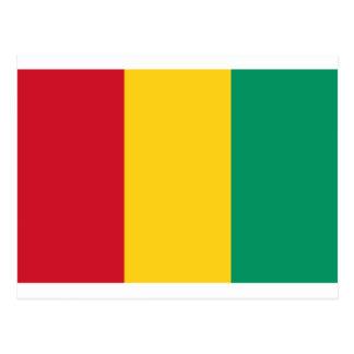 Low Cost! Guinea Flag Postcard