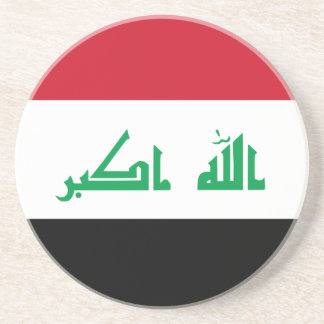 Low Cost! Iraq Flag Coaster