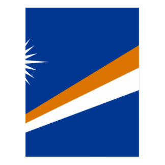 Low Cost! Marshall Islands Flag Postcard