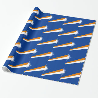 Low Cost! Marshall Islands Flag Wrapping Paper