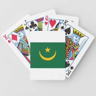 Low Cost! Mauritania Flag Poker Deck