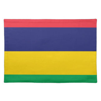Low Cost! Mauritius Flag Placemat