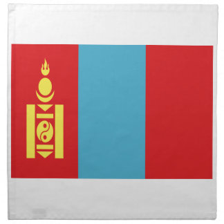 Low Cost! Mongolia Flag Napkin