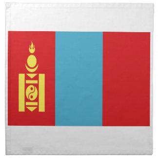 Low Cost! Mongolia Flag Napkin