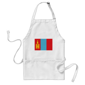 Low Cost! Mongolia Flag Standard Apron