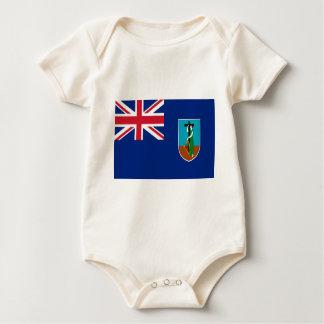Low Cost! Montserrat Flag Baby Bodysuit