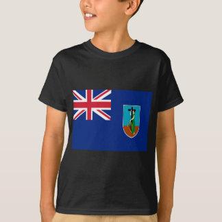 Low Cost! Montserrat Flag T-Shirt