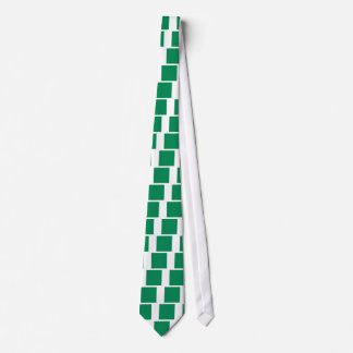 Low Cost! Nigeria Flag Tie