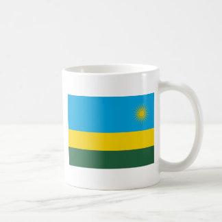 Low Cost! Rwanda Flag Coffee Mug