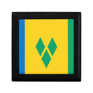 Low Cost! Saint Vincent and the Grenadines Flag Gift Box