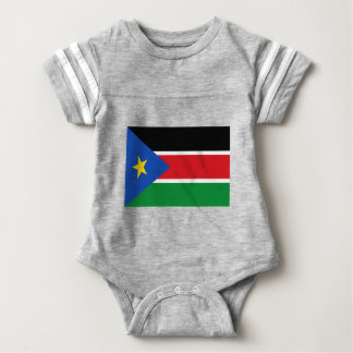 Low Cost! South Sudan Flag Baby Bodysuit