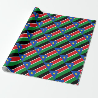 Low Cost! South Sudan Flag Wrapping Paper