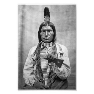 Low Dog - Native American vintage photo