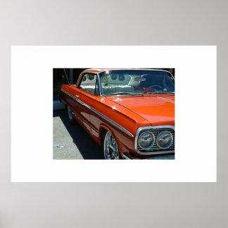 Low Rider Impala Poster