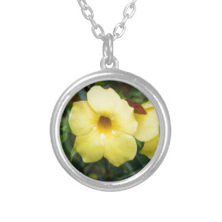 LowPRICE Elegant Gifts ORCHID Flower Yellow Bright Pendant