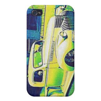 Lowrider Vintage Auto iPhone 4 Cases