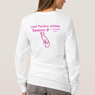 Loyal Panther  Athlete - Season # T-Shirt