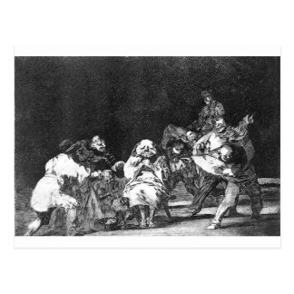 Loyalty by Francisco Goya Postcard