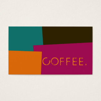 Loyalty Coffee Punch Modern Retro Color #8