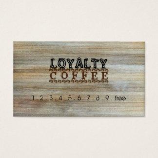 Loyalty Coffee Punch Modern Wood #2
