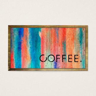 Loyalty Coffee Punch Retro Color Wood Look #10