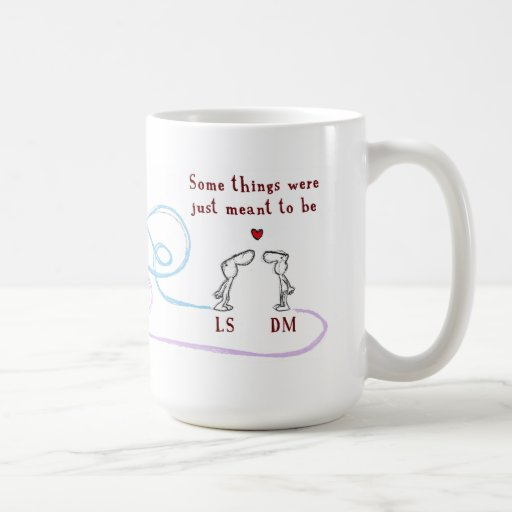 """LS heart DM"" Mugs"