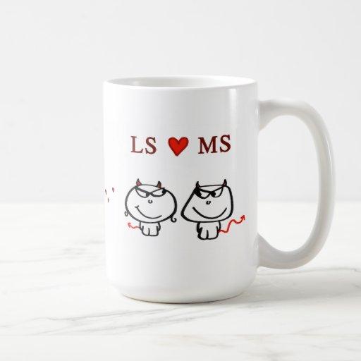 """LS heart MS"" Coffee Mug"