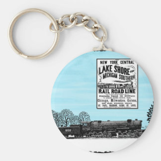 LS&MS BASIC ROUND BUTTON KEY RING