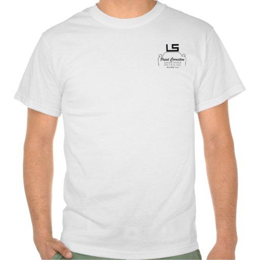 LS White Tee