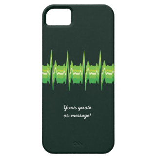 Lubdub Green Customisable Phone Case. Barely There iPhone 5 Case